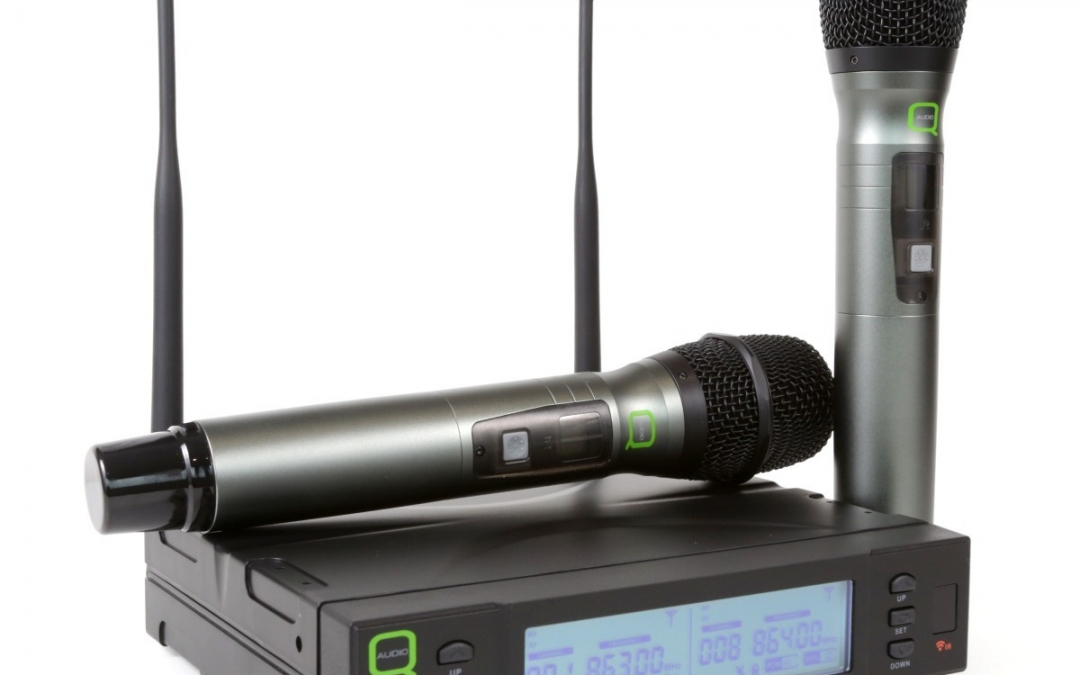 Q-Audio introduce a new range of wireless microphones