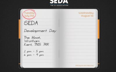 SEDA Development Day – Tuesday 31st July 2018