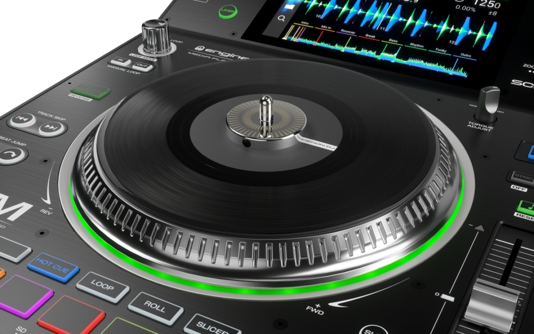 Denon DJ Introduces the NEW SC5000M Prime Motorized Platter, DJ Media Player.