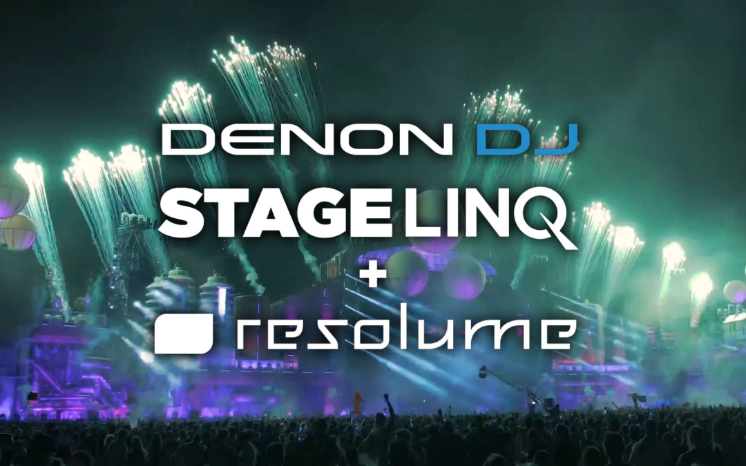 Denon Dj® Raises Stagelinq to Higher Level of Functionality with Soundswitch and Resolume Integration