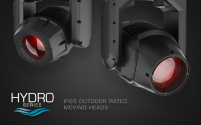 ADJ Launch Ground-breaking Hydro Series IP65-Rated Moving Heads