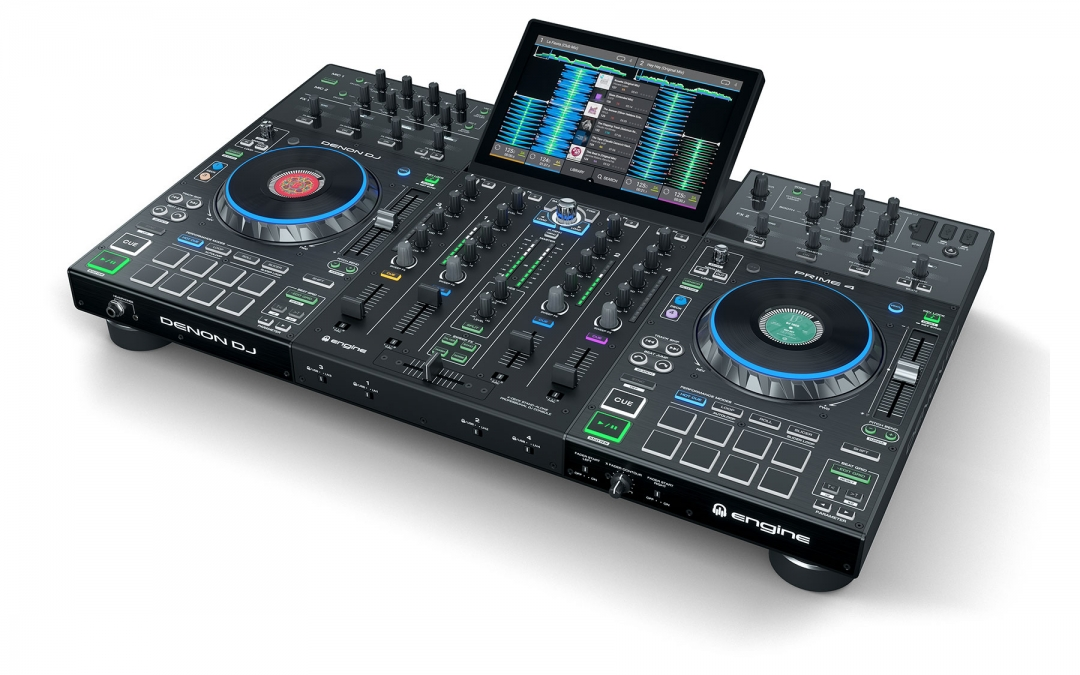 Denon DJ introduces Prime 4, a 4-Channel Standalone DJ System with 10-inch Multi-Touch Display and Dedicated Zone Output