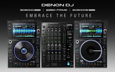 Denon DJ introduces Prime 4,DENON DJ® REDEFINES THE ULTIMATE IN MAINSTAGE DJ TECH WITH SC6000/SC6000M PRIME MEDIA PLAYERS AND X1850 PRIME MIXER a 4-Channel Standalone DJ System with 10-inch Multi-Touch Display and Dedicated Zone Output